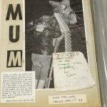 Fiona Green image of Ursula from newspaper climbing silo